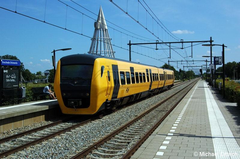 Bild: 3404 als Stoptrein in Enschede Drienerlo.