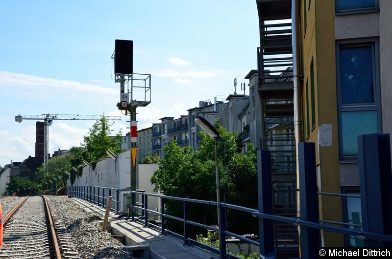 Signal 1133 zwischen Ostkreuz und Nöldnerplatz.