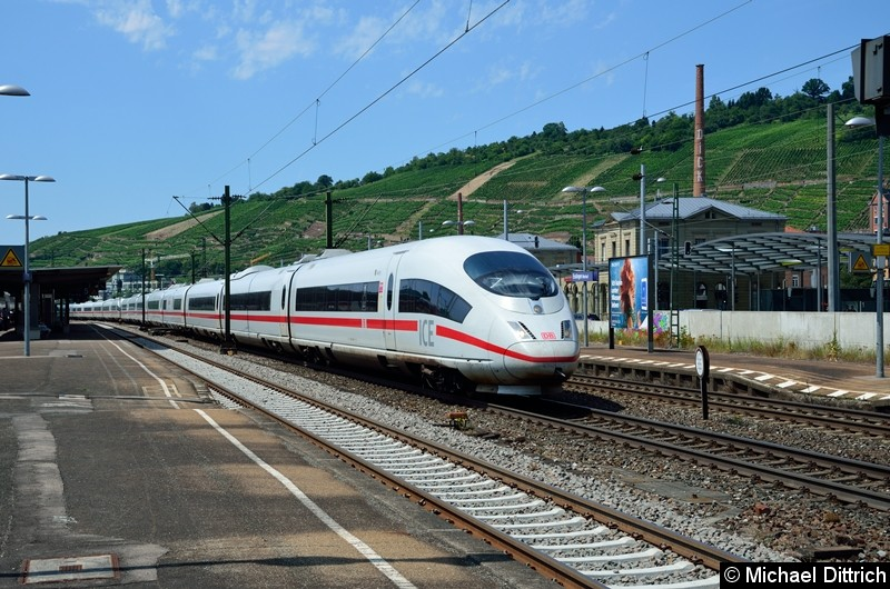 Bild: 403 009 + 403 034 bei der Durchfahrt in Esslingen (Neckar).