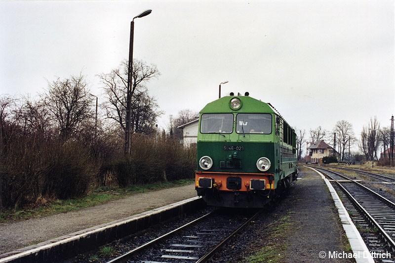 Bild: SU 46-029 steht in Zgorzelec.