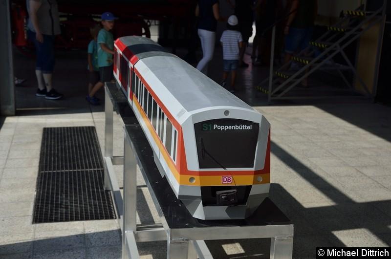 Ein S-Bahnmodell