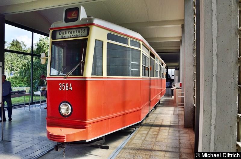 Hamburger Straßenbahn Typ V6.