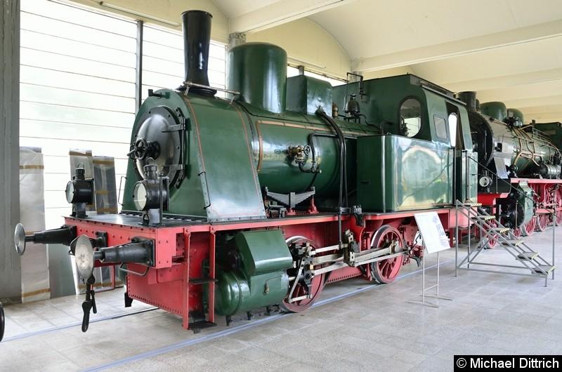 Diese Lok ist Baujahr 1922 und gehörte der Gelsenkirchner Bergwerks A.G., Zeche Westerhausen.