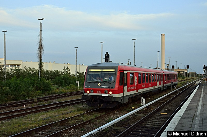 Sonderfahrt des VIV e.V. zum Thema i2030.  Hier im Güterbahnhof Marienfelde.