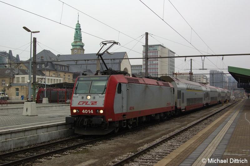 Bild: 4014 als Regionbalbahn nach Rodange.