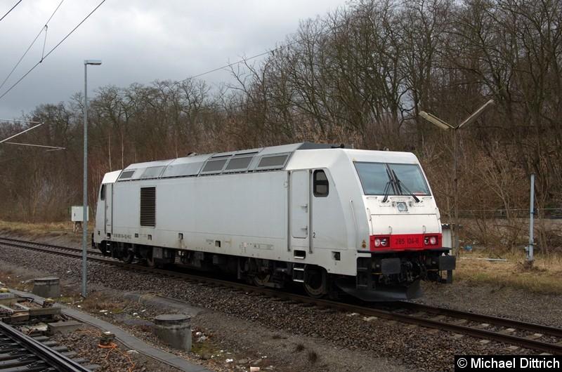 285 104 der HVLE in Jüterbog.