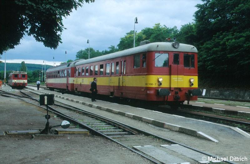 Bild: 830 108 in Moravske Branice.