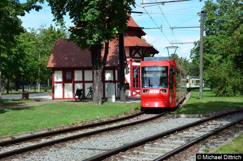 1323 als Linie 6 im Herrenkrug.