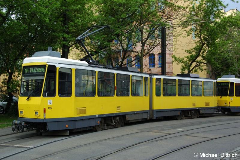 Bild: 7087 als Linie M4 in der Großen Präsidentenstraße.