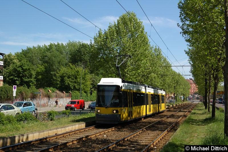 Bild: 2004 als Linie M10 kurz vor der Haltestelle Winsstraße.