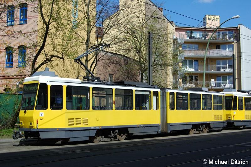 Bild: 6050 als Linie M4 in der Großen Präsidentenstraße.