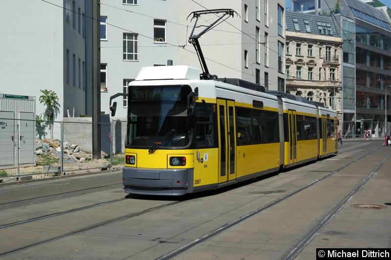 Bild: 2007 als Linie M4 in der Großen Präsidentenstraße.