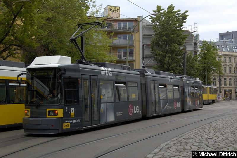 Bild: 2008 als Linie M5 in der Großen Präsidentenstraße.