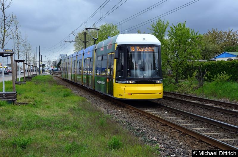 8014 als Linie 16 zwischen den Haltestellen Landsberger Allee/Rhinstr. und Dingelstädter Str.