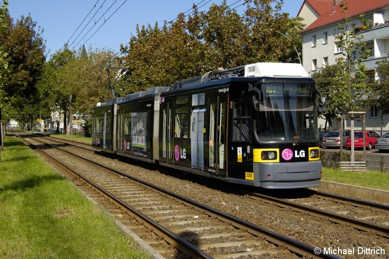 Bild: 2008 als Linie M10 vor der Haltestelle Paul-Heyse-Straße.