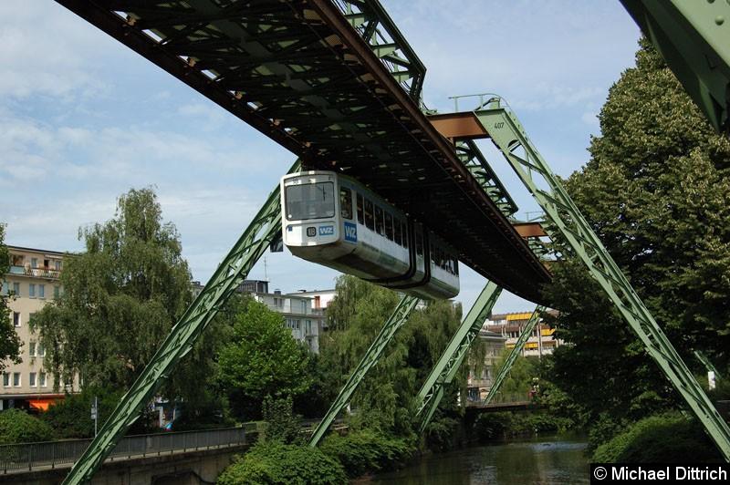 Bild: Wagen 18 kurz vor der Brücke Rolingswerth.