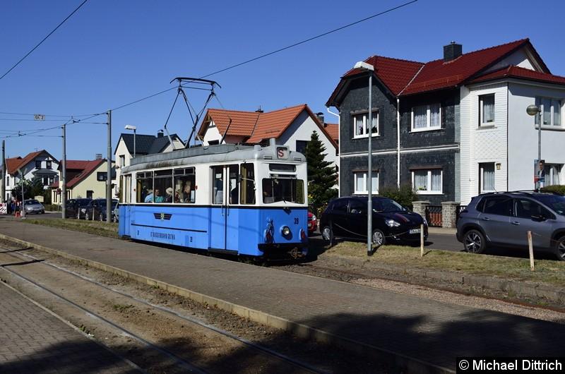 Noch einmal ein Blick auf den Wagen 39 in Bad Tabarz.