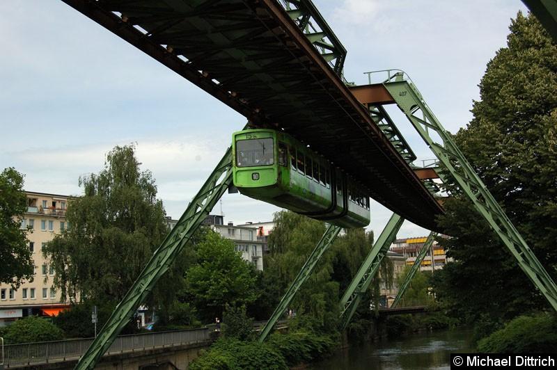 Bild: Wagen 15 kurz vor der Brücke Rolingswerth.