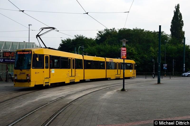 1157 erreicht als Linie 108 seine Endstelle Altenessen Bf.