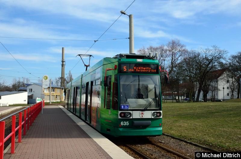 635 als Linie 5 in Bad Dürrenberg