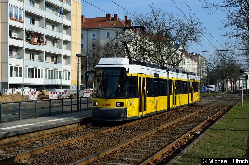 Bild: 2003 als Linie M10 an der Haltestelle Arnswalder Platz.
