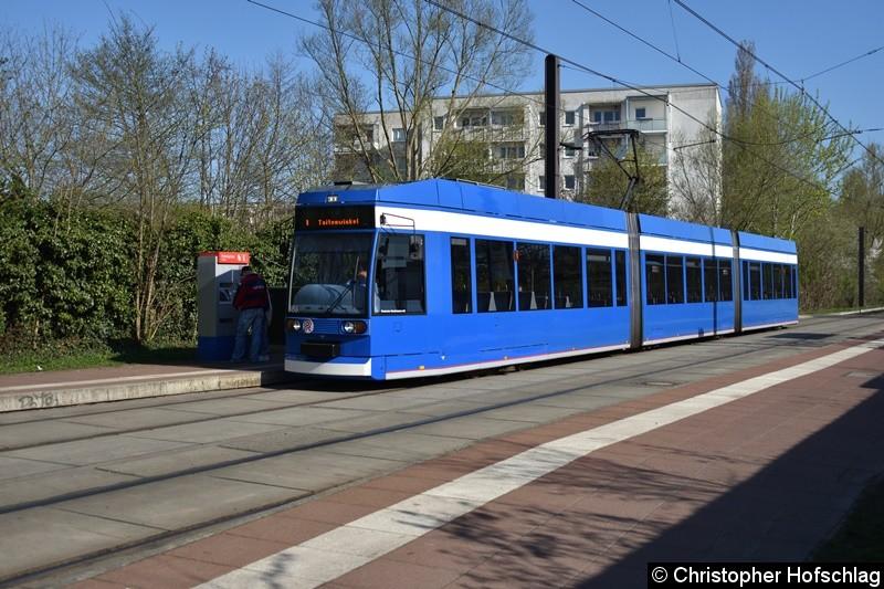688 als Linie 1 an der Haltestelle Rügener Straße.