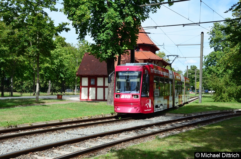 1350 als Linie 6 im Herrenkrug.