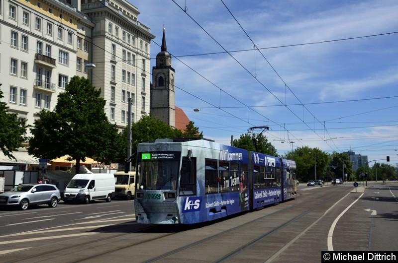 1346 als Linie 4 in der Ernst-Reuter-Allee, kurz vor dem Breiten Weg.